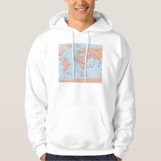 Political Map of the World Sweatshirts