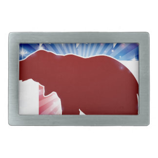Political Mascot Republican Elephant Belt Buckle