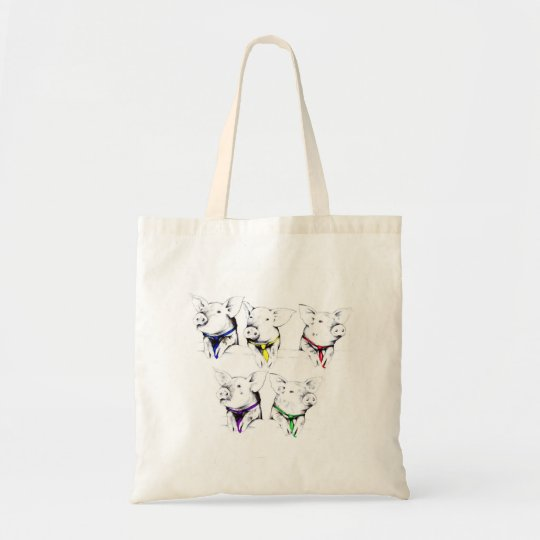 Political Pigs Tote Bag