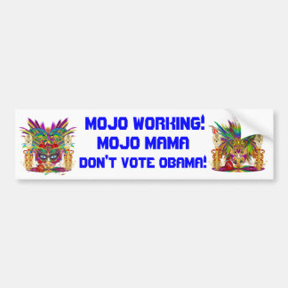 Political Satire Bumper Sticker