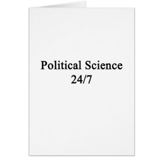 Political Science 24/7 Card
