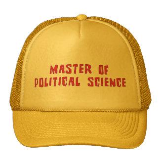Political Science Trucker Hat