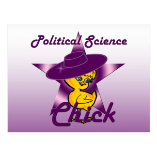 Political Science Chick #9 Postcard