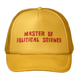 Political Science Trucker Hat