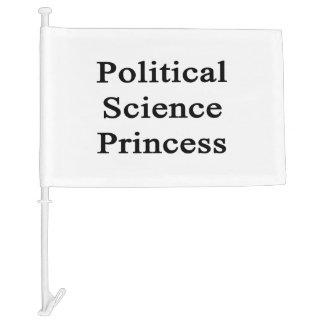 Political Science Princess Car Flag