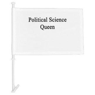 Political Science Queen Car Flag