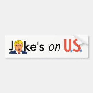 Political Stickers Bumper Sticker