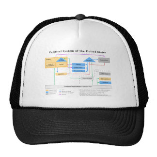 Political System of the United States Diagram Cap