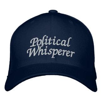Political Whisperer Embroidered Hat