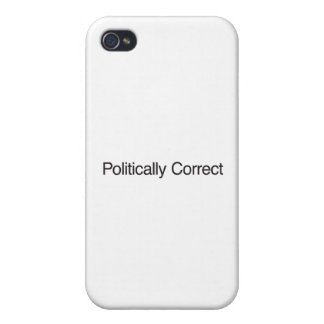 Politically Correct iPhone 4/4S Cover
