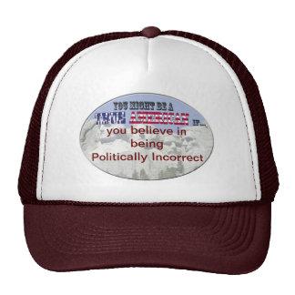 politically incorrect hats