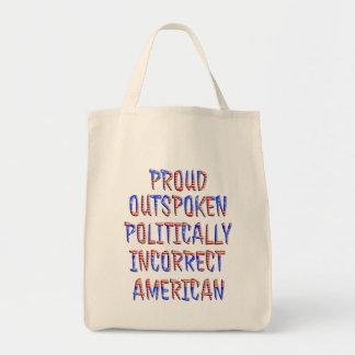 Politically Incorrect Sacks and Totes
