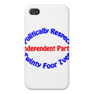 Politically Respect - Independent Party iPhone 4/4S Covers