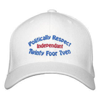 Politically Respect - Twinty Foor 7ven Embroidered Hat