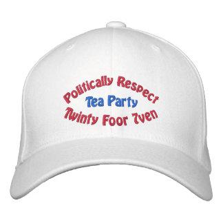 Politically Respect - Twinty Foor 7ven Baseball Cap