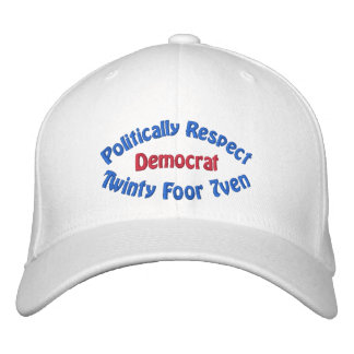 Politically Respect - Twinty Foor 7ven Embroidered Baseball Caps
