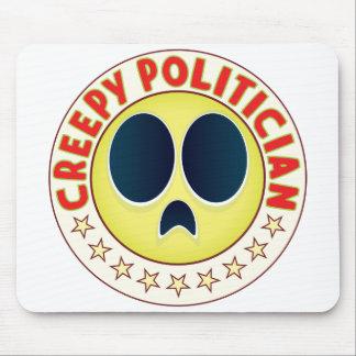 Politician Creepy Mouse Pad