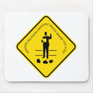 Politician crossing copy.GIF Mouse Pad