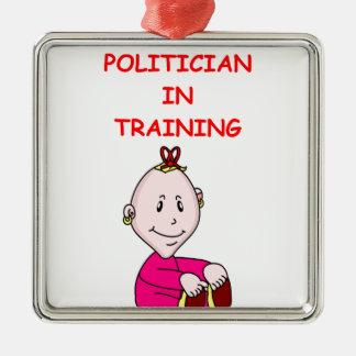 POLITICIAN CHRISTMAS TREE ORNAMENTS