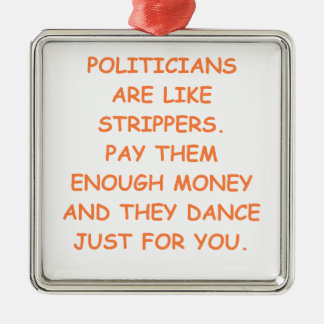 politicians ornaments