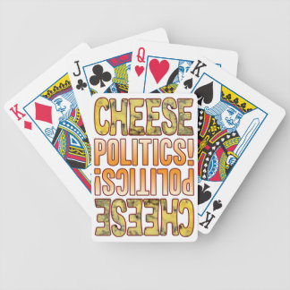 Politics Blue Cheese Bicycle Playing Cards