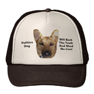 Politics German Shepherd Dog Will Bark The Truth Cap