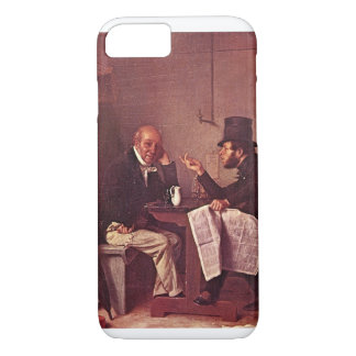 Politics in an Oyster House_Great Work of Art iPhone 7 Case