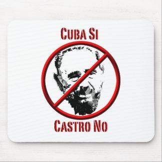 Politics - Intl - Cuba Si, Castro No Mouse Pad