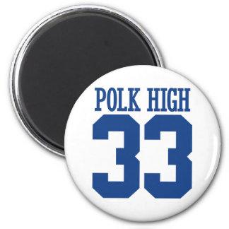 polk high 6 cm round magnet