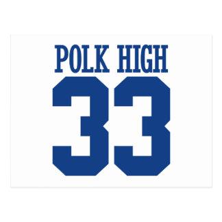 polk high postcard