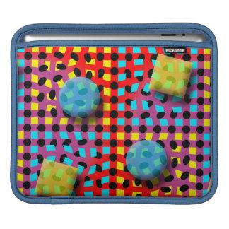 Polka Chex iPad Sleeve