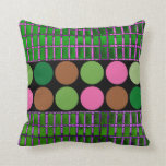 Polka Dot Abstract, Design Pillow