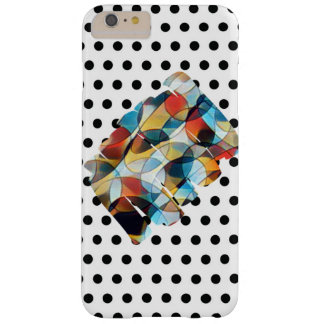 Polka Dot and Abstract Color IPhone Case