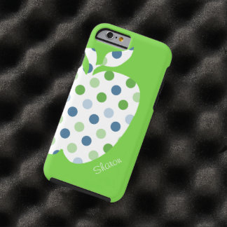 Polka Dot Apple Teacher's iPhone 6 case