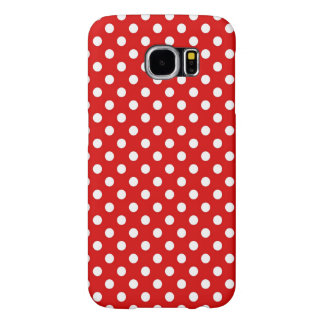 Polka dot background samsung galaxy s6 cases