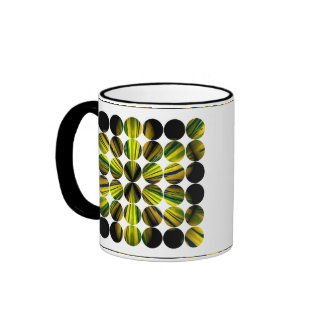 Polka Dot Bamboo Coffee Mugs