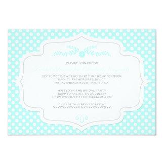 Polka Dot Bridal Shower Invitations