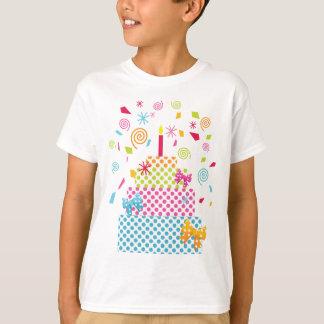 Polka Dot Cake and Confetti T-Shirt
