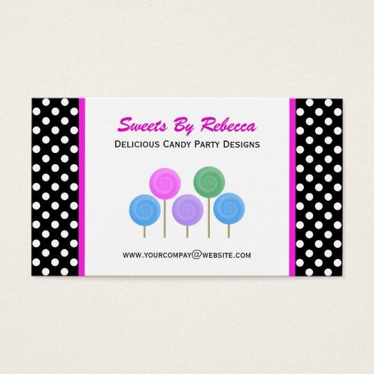Polka-dot & Candy Business Card