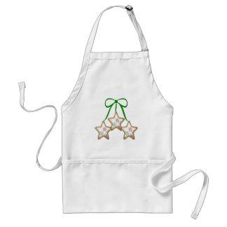 Polka Dot Christmas Cookies Apron