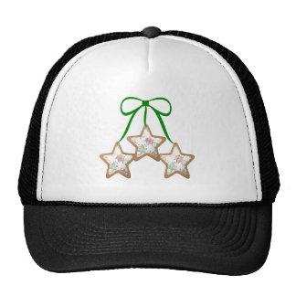 Polka Dot Christmas Cookies Cap