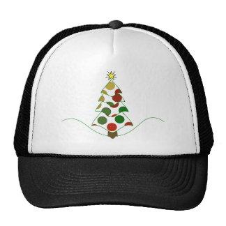 Polka Dot Christmas Tree Hat