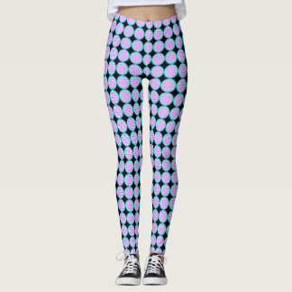 Polka Dot Circle Leggings