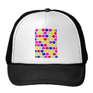 Polka dot Colors set 1 Trucker Hats
