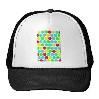 Polka dot Colors set 3 Trucker Hat