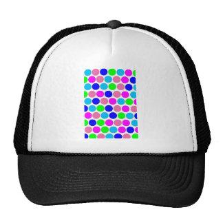 Polka dot Colors set 4 Trucker Hats