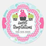 Polka Dot Crazy Cupcake Bakery Business