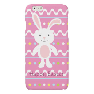 Polka Dot Easter Bunny iPhone 6 Plus Case