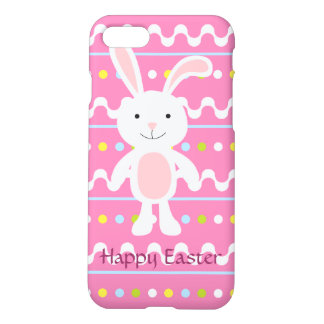 Polka Dot Easter Bunny iPhone 7 Case