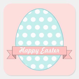 Polka Dot Easter Egg Stickers